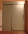 Сдвижная металлическая дверь